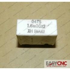 A40L-0001-0475#R016ΩG*2 FANUC 0475  1.6mΩGx2 RESISTOR