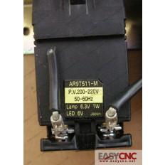 FUJI DR22D0L WHITE PILOT LIGHT AR9T511-M  AR9T511-H 200-220V LAMP 6.3V 1W LED 6V
