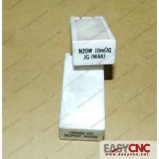 A40L-0001-N20W#R10mΩG Fanuc resistor N20W 10mΩG
