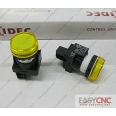 YW1P-1BEQ0Y YW-EQ IDEC control unit switch yellow new and original